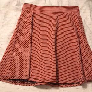 Target Flowy Striped Skirt